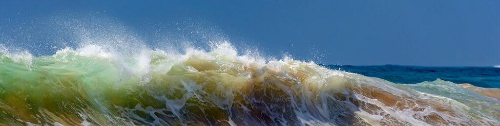 Golven in zee