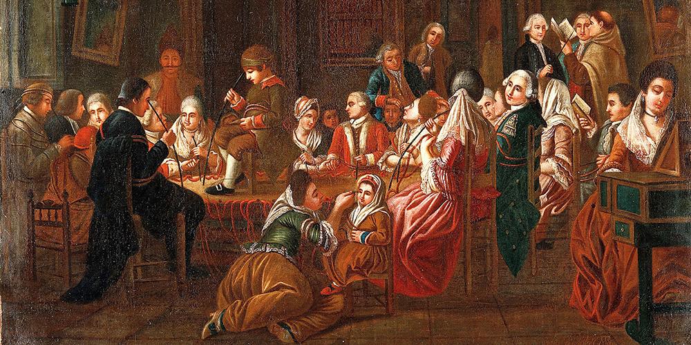 schilderij over mesmerisme